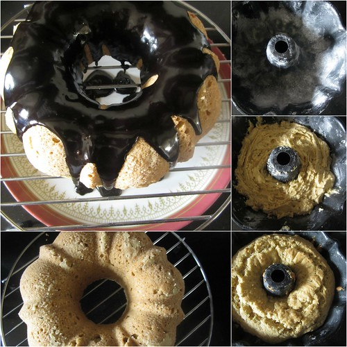 Orange Caraway seeds Bundt Cake