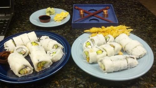 I made sushi