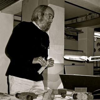 Luis Ralha at his Atelier