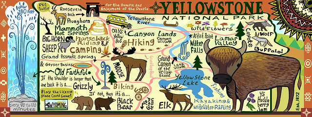 parque nacional yellowstone - 12433903734 efcf822bd8 z - Parque Nacional Yellowstone, cómo visitarlo en dos días