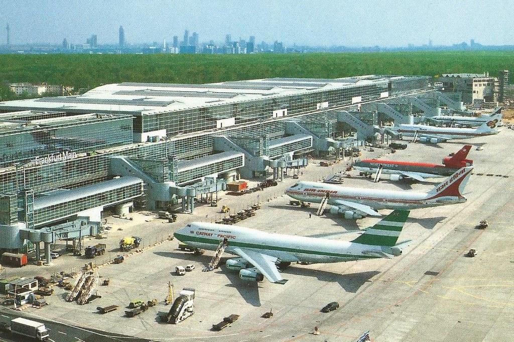 Flughafen Frankfurt Ankunft Terminal 2