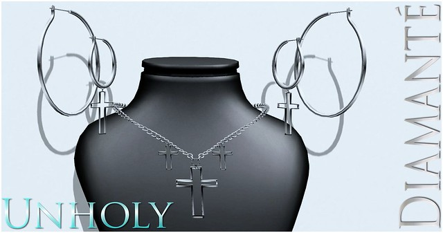 :Diamante: Unholy Jewelry Set - NEW