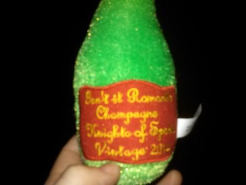 Sparta plush champagne