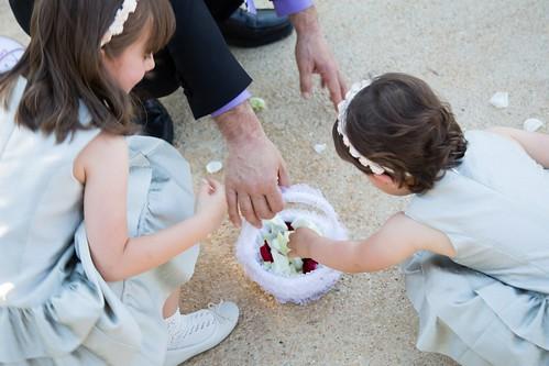damas y pajes boda
