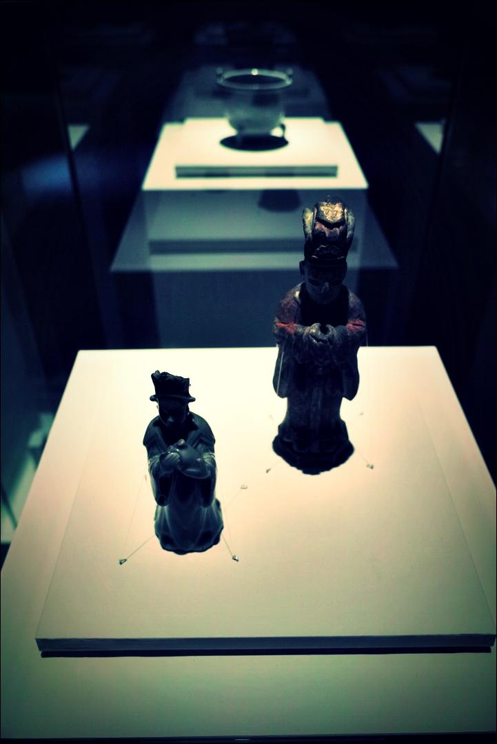 도교 의상을 입은 사람 연적-'한국의 도교 문화(Taoism of korea)'
