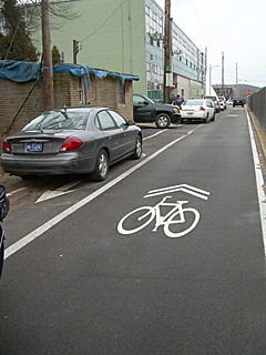 Why call it a bike lane?