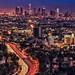 LA – Hollywood Bowl Overlook on Mulholland Drive