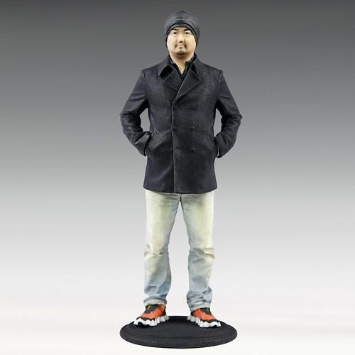 3Dプリント・フィギュア ジェットダイスケ