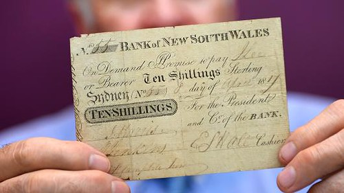 Australia's first banknote sells