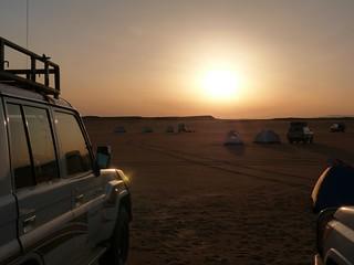 Primer campamento de la Expedición Kamal