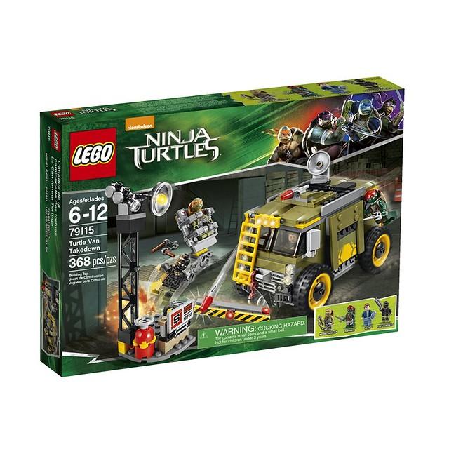 LEGO TMNT 79115 - Turtle Van Takedown