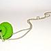 Snail pendant - Pendentif escargot by Enkhe Tserenbadam