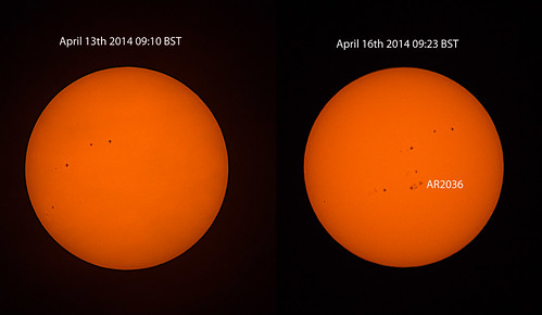 Sunspot AR2036