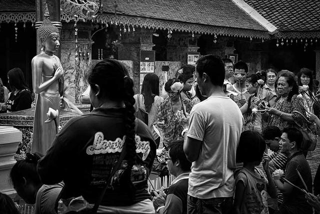 Foto_Michel - Temple in Chiang Mai