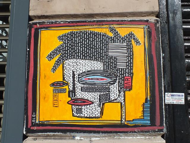 Alo street art, London