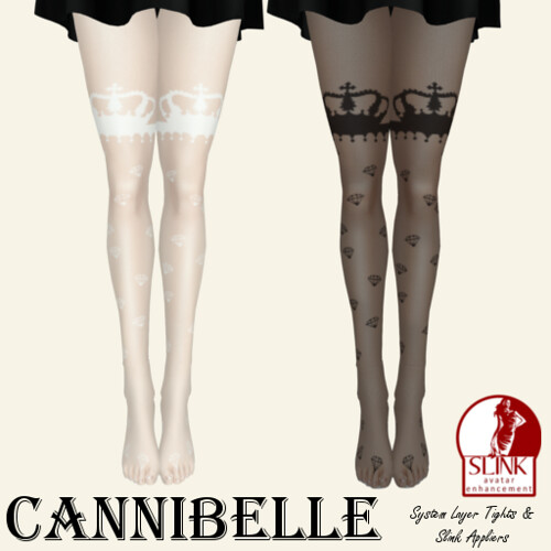 ~Cannibelle~ Crown Jewels Tights
