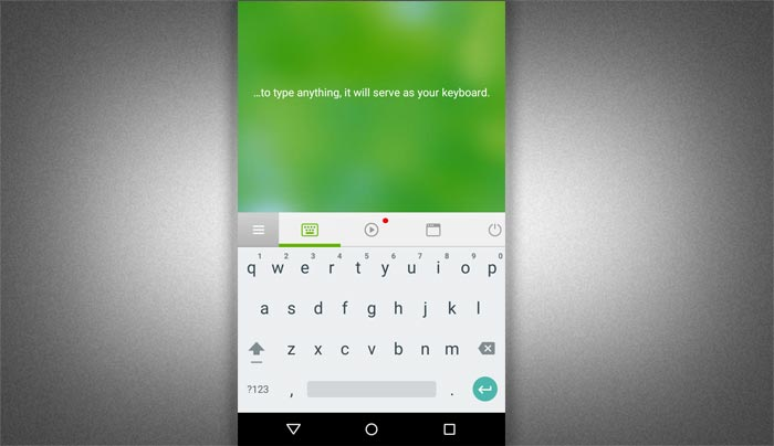 Use smartphone as Keyboard