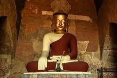 Buddha Statue in Sulamani Temple
