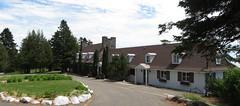 Ancien chalet du club de golf de Murray Bay, aujourd'hui prêté à l'Observatoire astronomique et de l'astroblème de Charlevoix