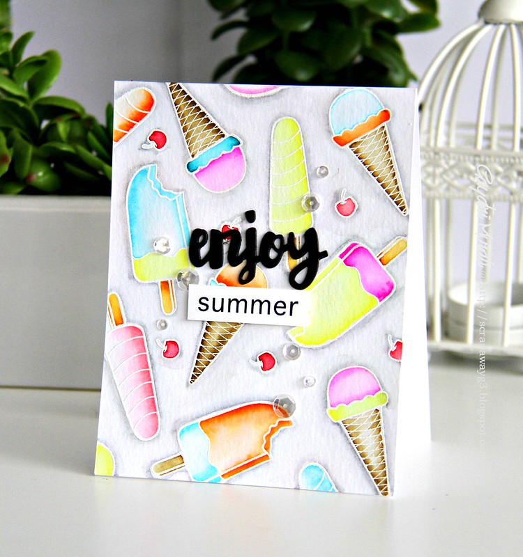 Enjoy Summer card 2