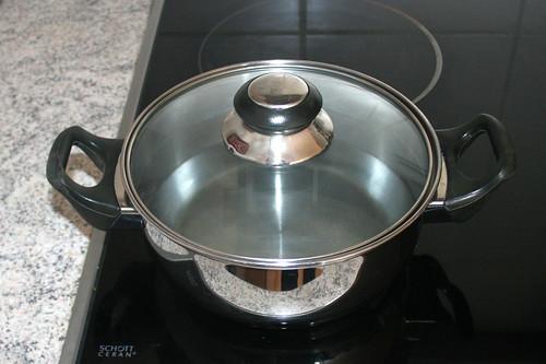 13 - Wasser zum kochen bringen / Bring water to a boil