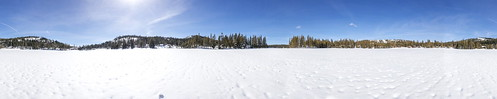serenelakes winter snow lake donnersummitarea panorama