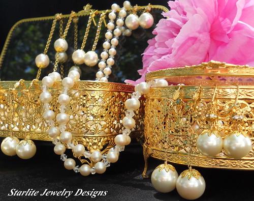 Vintage Jewelry Box ~ Bridal Jewelry Designs ~ Bridesmaids Jewelry Weddings ~ Vintage Jewelry ~ True Vintage