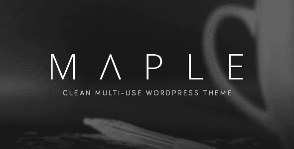 Maple WordPress Theme free download