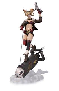 DC Collectibles – Bombshells 系列【小丑女哈莉.奎茵豪華雕像】Harley Quinn Deluxe Statue 全身雕像作品