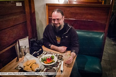 Diner at Casa Nueva in Athens Ohio