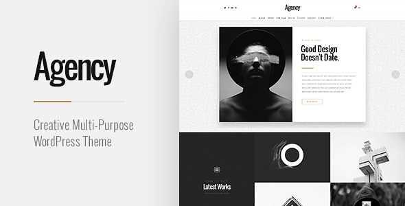 Agency WordPress Theme free download