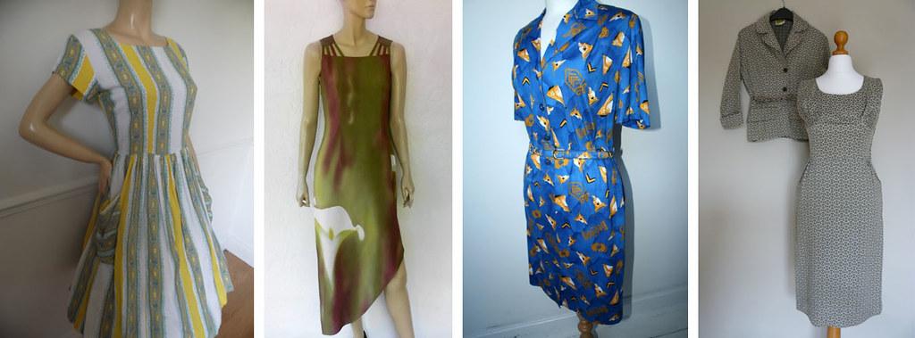 Vintage dresses 1950s - 1980s