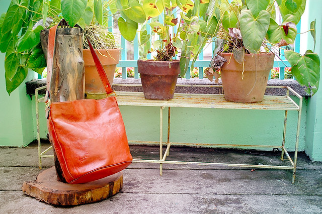 Thrift Texier Leather Bag
