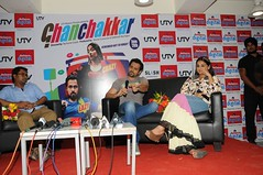 Vidya Balan and Emraan Hashmi interact with the media.