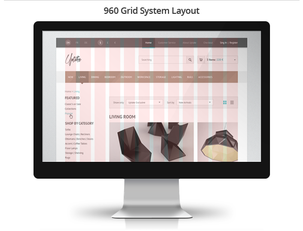 Uptake Shop HTML Template