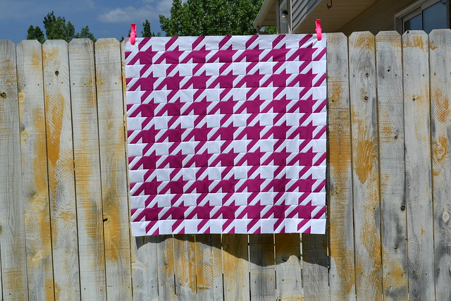 Houndstooth Quilt Top #2