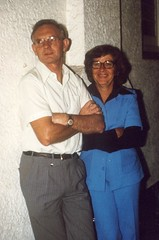 Calomba Store and Post Office owners Tony and Winnie Howard in 1970