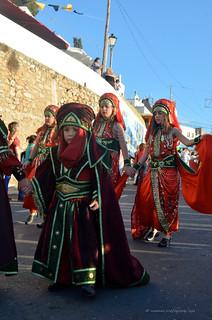Reportage fotografico; moros y cristianos  Mojacar 2013 /Almeria/es