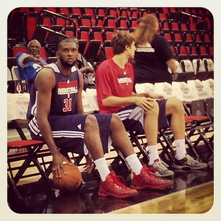 Chris & Jan: preparation intensity. #Wizards #NBAsummerleague.