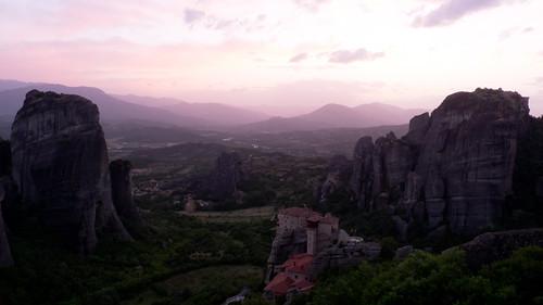 landscape greece monastery gr kastraki thessaliastereaellada