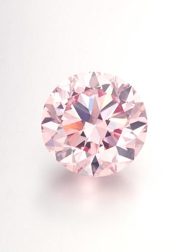Harry Winston 12.04ct Fancy Intense Pink (1)