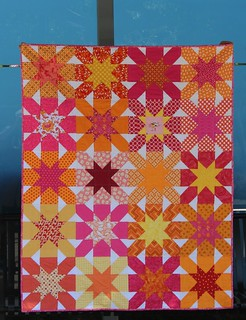 Starcrossings - FAITH Circle's June quilt