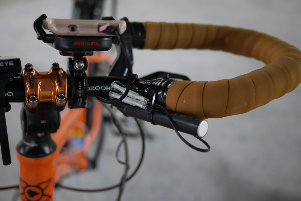 DIY Dynamo USB Charger for a Bicycle | 自作の自転車用のダイナモ充電器(USB)