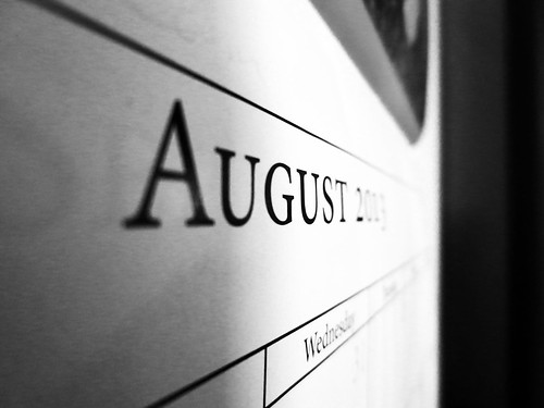 Day 1: August