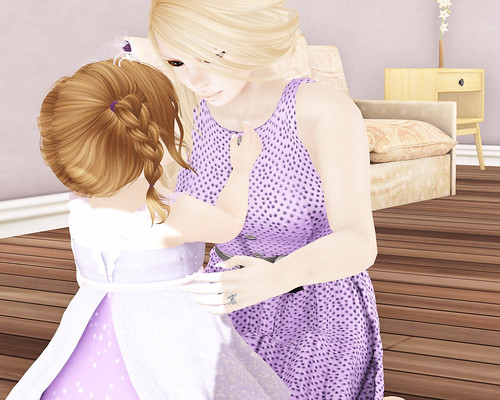 Rapunzel playtime