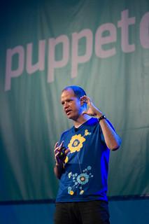 Luke Kanies keynotes PuppetConf 2013