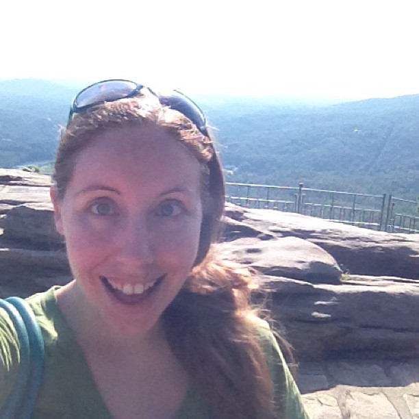 Chimney Rock #excitedface. #epicroadtrip