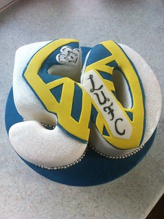 Design Your Own Cake Leeds : Pin Leeds United Badge Cake Fountains Can Be Put In Your ...