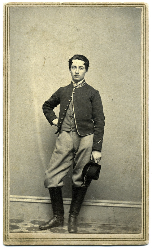 Union Cavalryman Photographed in Chicago