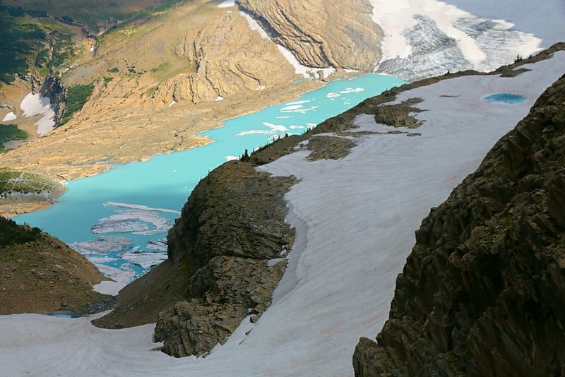 IMG_4491 Upper Grinnell Lake and Grinnell Glacier